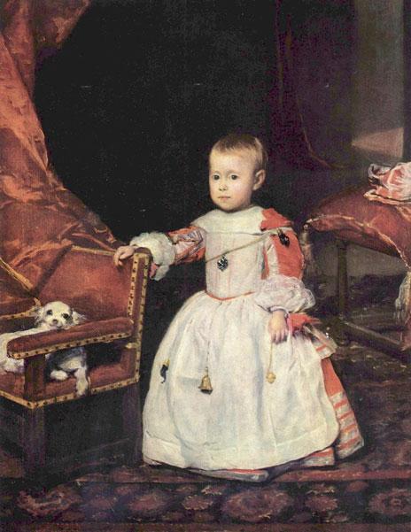 El Infante Felipe, la Suri Cruise de su época.