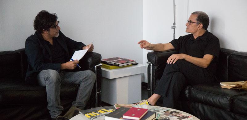 Jesús García Cívico y José Miguel G. Cortés. Foto: Pau Navarro