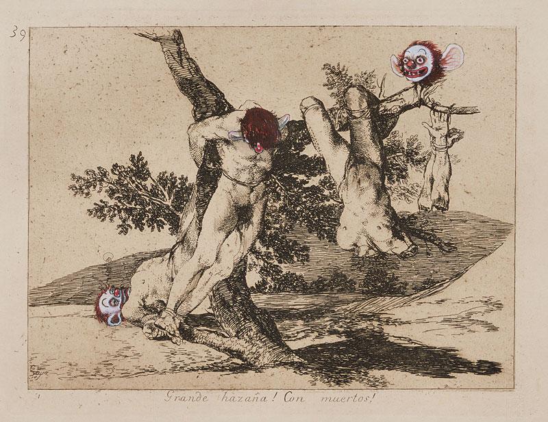 """""""Los desastres de la guerra"""" de Goya, versión de los Hermanos Chapman"""