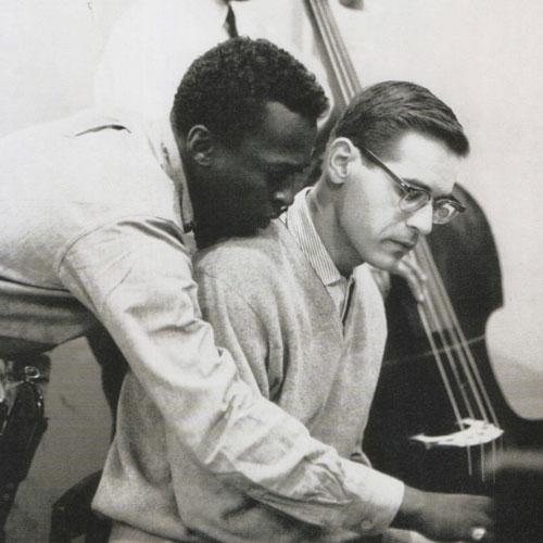 Miles Davis y Bill Evans