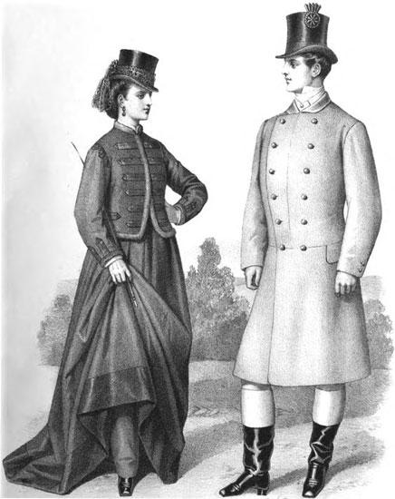 Un fashionista del XIX, reivindicando la mirt.