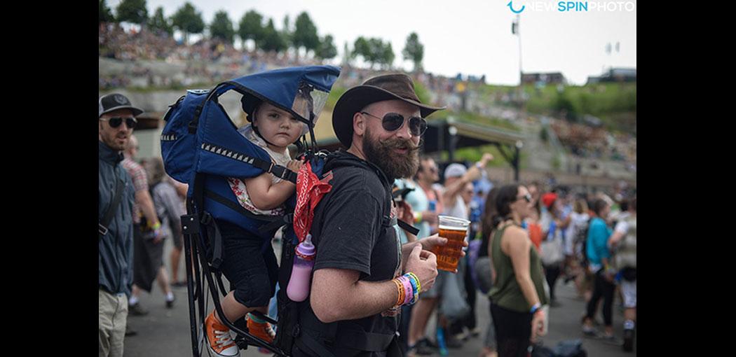 Pros y contras de llevarte a los niños a un festival