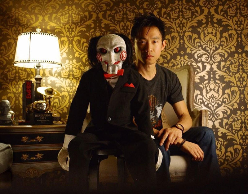 James Wan y su payaso favorito...