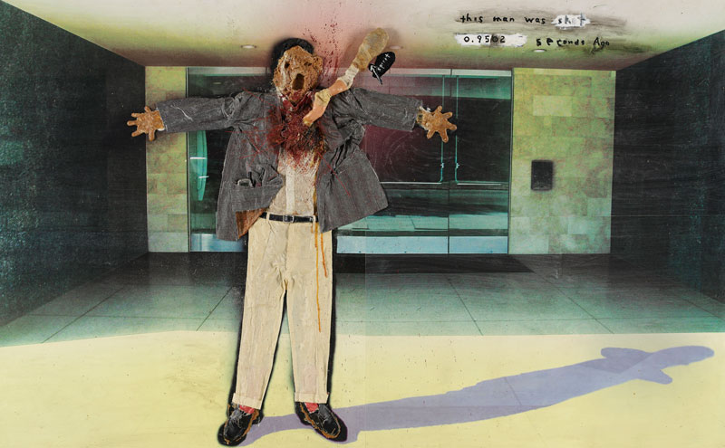 This man was shot, David Lynch