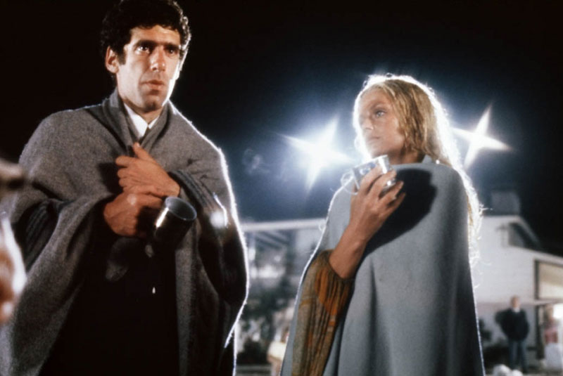 Nina Van Pallandt y Elliot Gould en The Long Goodbye
