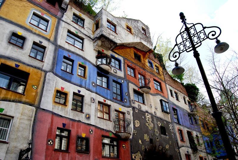 Casa Hundertwasser en Austria. Fotografía Flickr: usuario: Lena Ni.