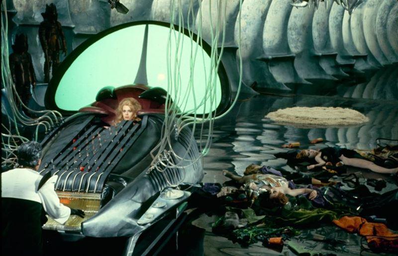 Jane Fonda en la película Barbarella.