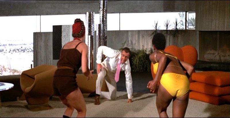 Casa Elrod en la película de James Bond Diamantes para la eternidad (1971).