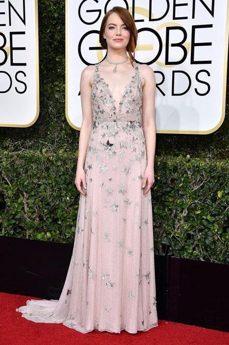 Emma Stone. Globos de Oro