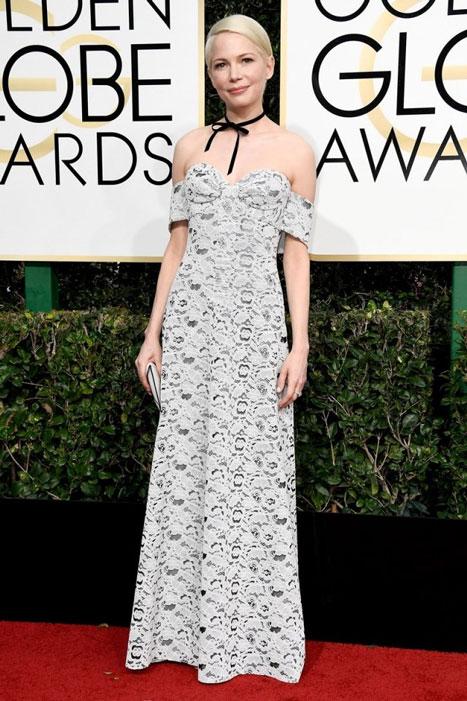 Michelle Williams. Globos de Oro