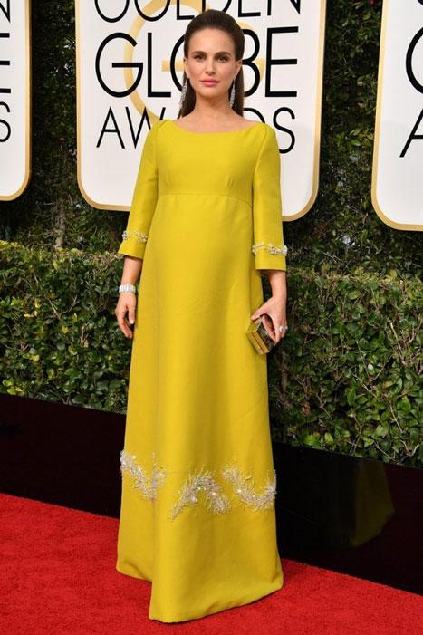 Natalie Portman. Globos de Oro