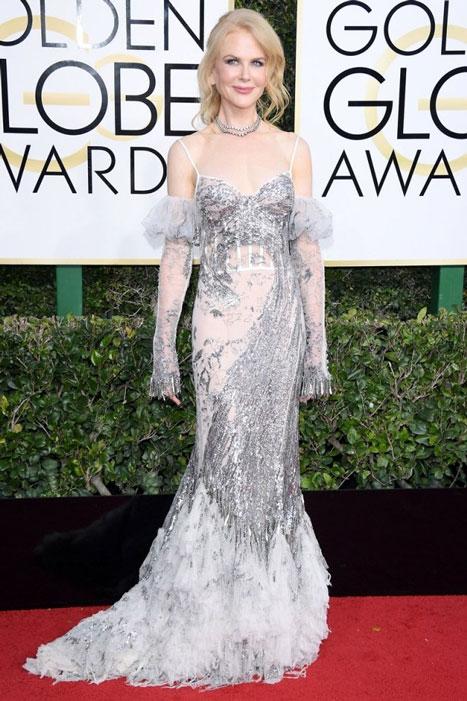 Nicole Kidman. Globos de Oro