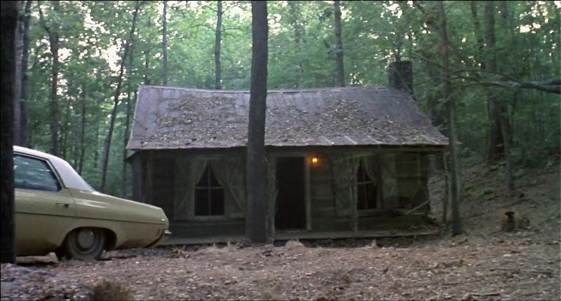 Evil dead: arquitectura en el bosque