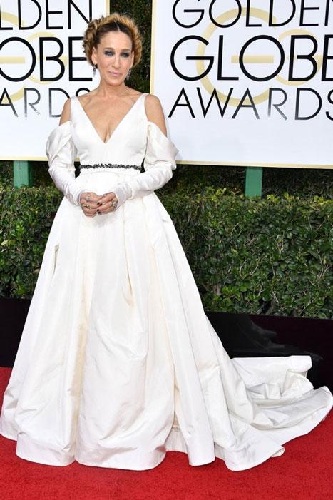 Sarah Jessica Parker. Globos de Oro
