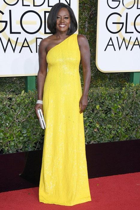 Viola Davis. Globos de Oro