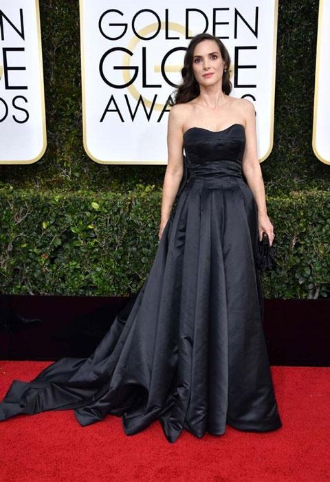 Winona Ryder. Globos de Oro