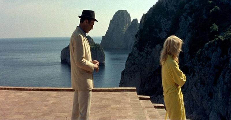 Le mépris, Jean-Luc Godard (1963).