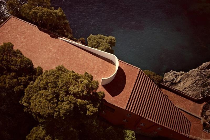 Casa Malaparte, Capri (Italia). © Fotografía, Alamy.