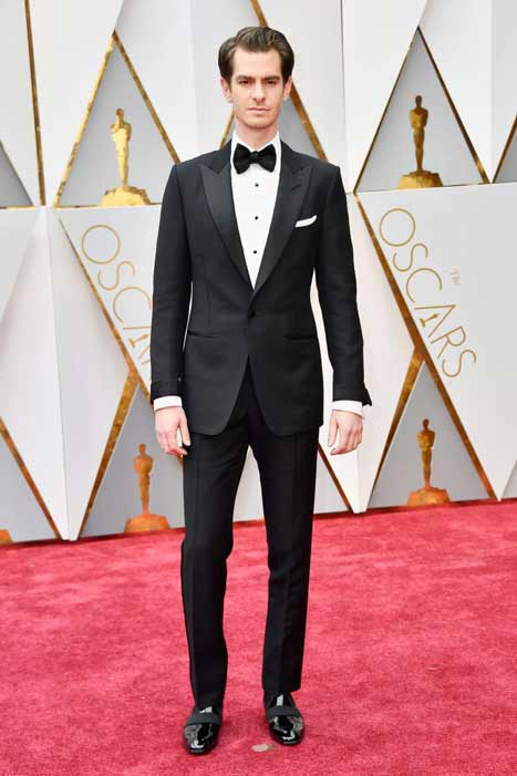 Andrew Garfield. Oscars 2017