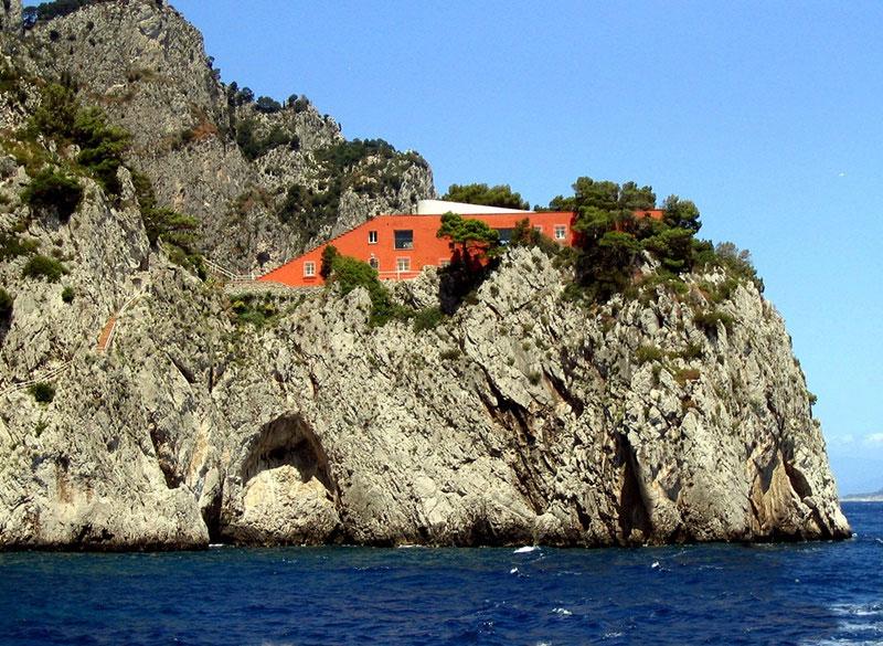 Casa Malaparte, Capri (Italia).  © Fotografía, Gloria Saravia Ortiz.