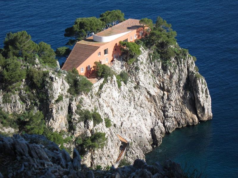 Casa Malaparte, Capri (Italia).  © Flickr: Sean Munson