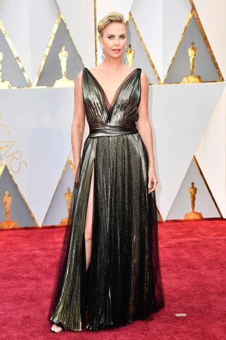 Charlize Theron. Oscars 2017