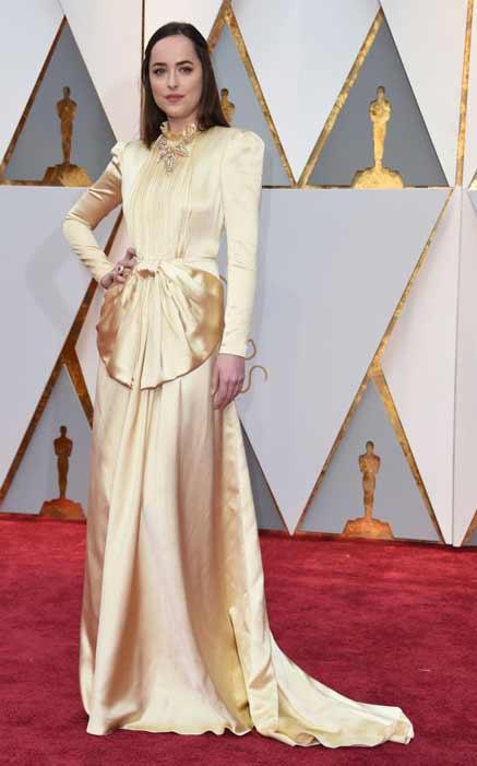 Dakota Johnson. Oscars 2017