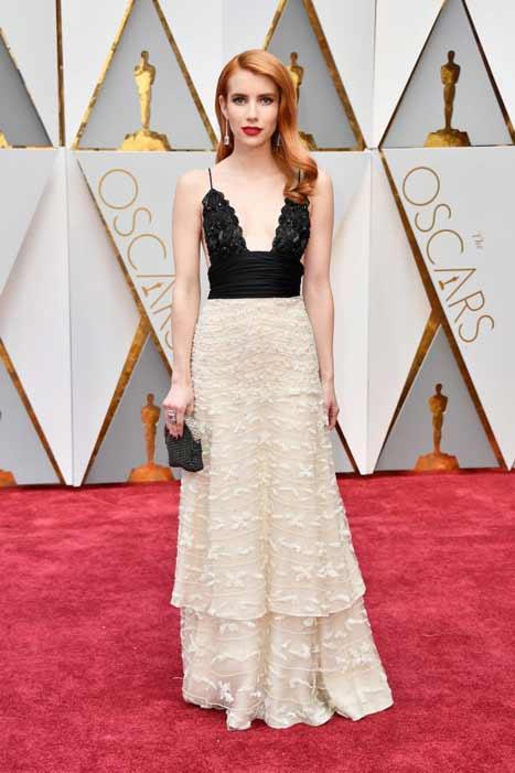 Emma Roberts. Oscars 2017