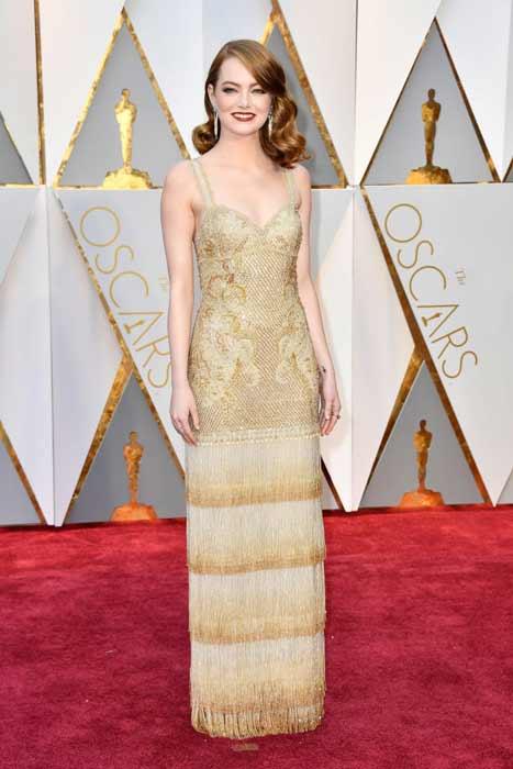 Emma Stone. Oscars 2017