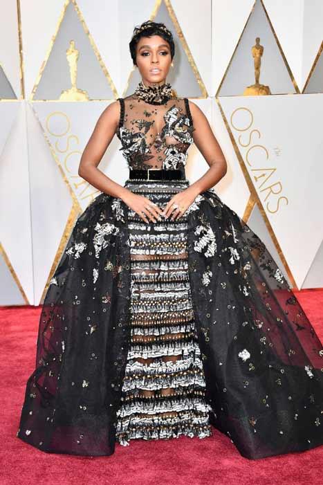 Janelle Monáe. Oscars 2017