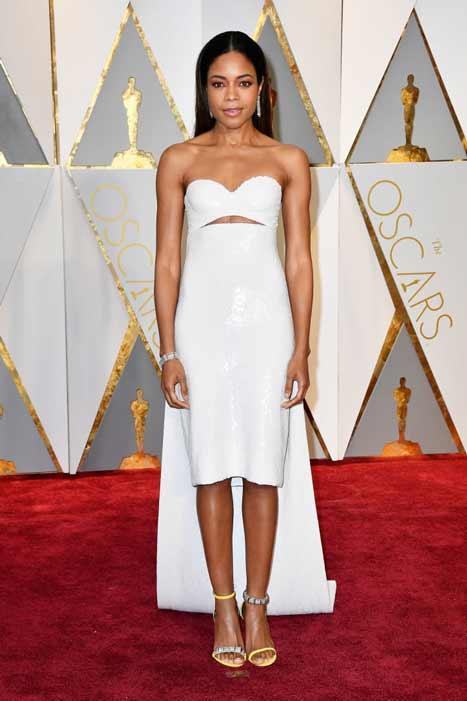 Naomie Harris. Oscars 2017