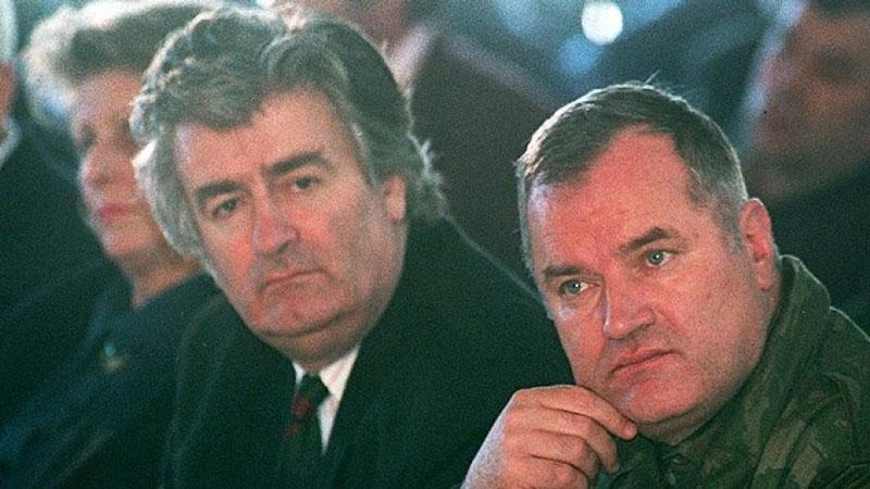Radovan Karadžić y Ratko Mladic