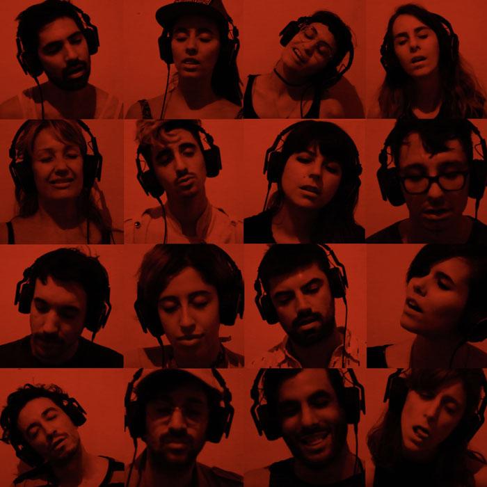 Rosana Antoli. Video Instructions to kiss. Buenos Aires. 2016