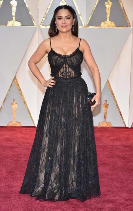 Salma Hayek. Oscars 2017