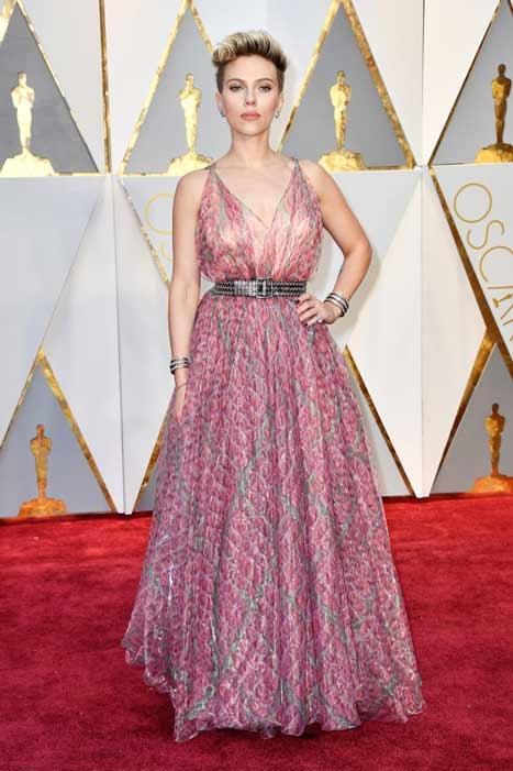 Scarlett Johannson. Oscars 2017
