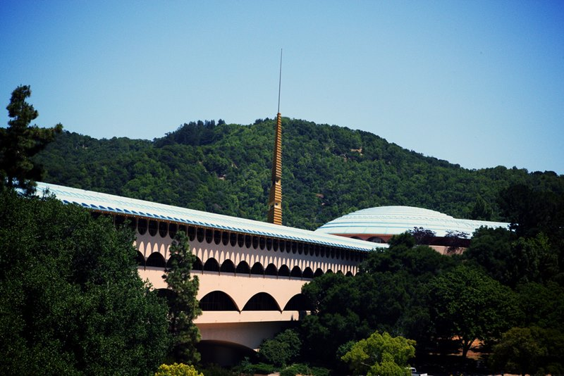 Marin County Civic Center, California. © Arquitecto Frank Lloyd Wright.