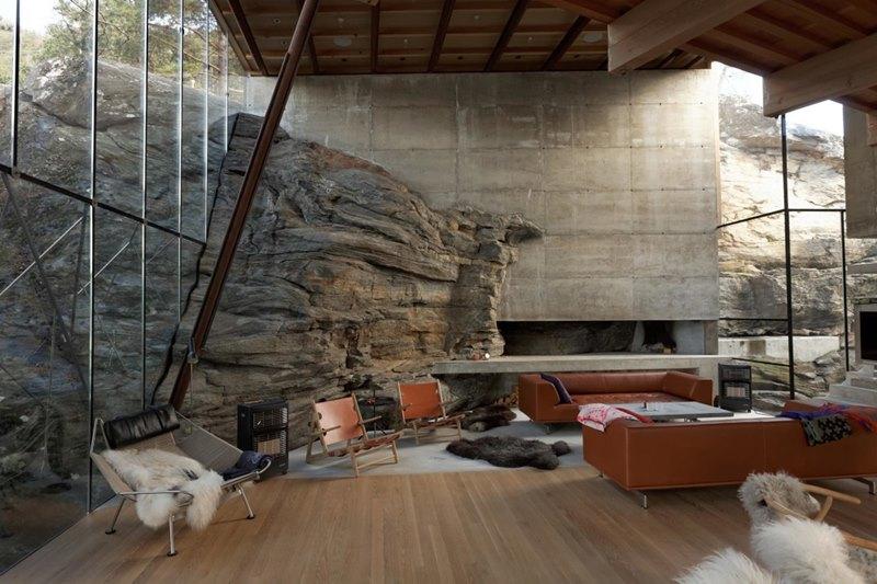 Summer house Storfjord (Noruega). © Arquitectos Jensen & Skodvin.