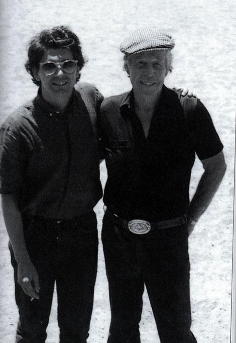 José María Prado (i) y Budd Boetticher