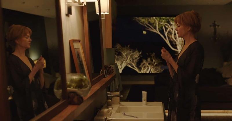 Big little lies, serie HBO. Vivienda Celeste (Nicole Kidman) y Perry (Alexander Skarsgård).