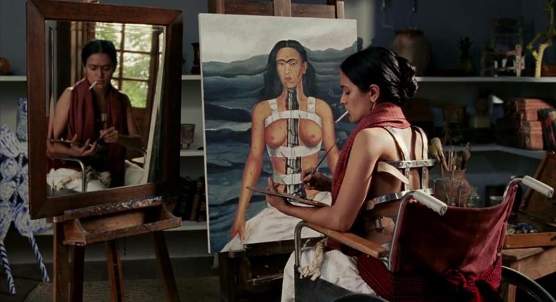 Salma Hayek en Frida (2002) dirigida por Julie Taymor