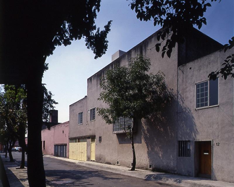 Casa estudio en Ciudad de México (1947). © Luis Barragán Morfín, arquitecto