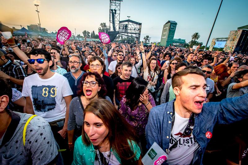 Imagen del público asistente al WAM (Foto: Javier Rosa)