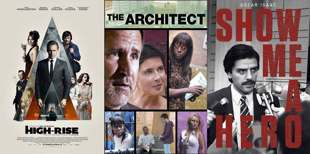 Películas: Rascacielos, The architect y la serie Show me a hero