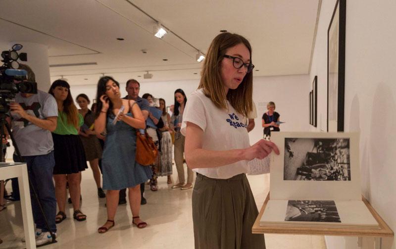 Rueda de prensa. Exposición Robert Frank. IVAM