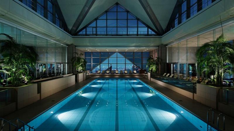 Hotel Park Hyatt en Tokyo, arquitecto Kenzo Tange.