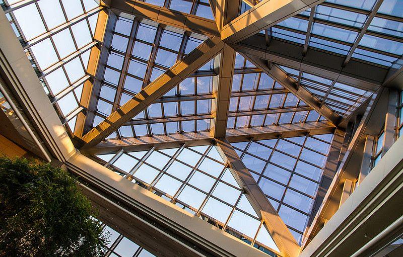 Hotel Park Hyatt en Tokyo, arquitecto Kenzo Tange. © Fotografía Luis Rodríguez.