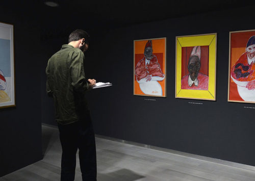 El Francis Bacon más descarnado en la Fundación Bancaja