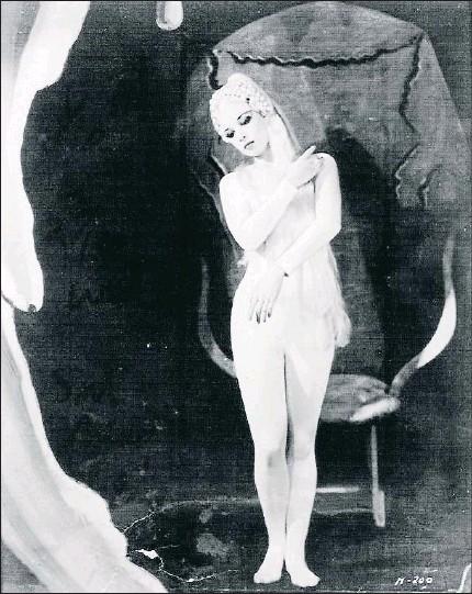La Venus de Bacanale interpretada por Nini Theilade
