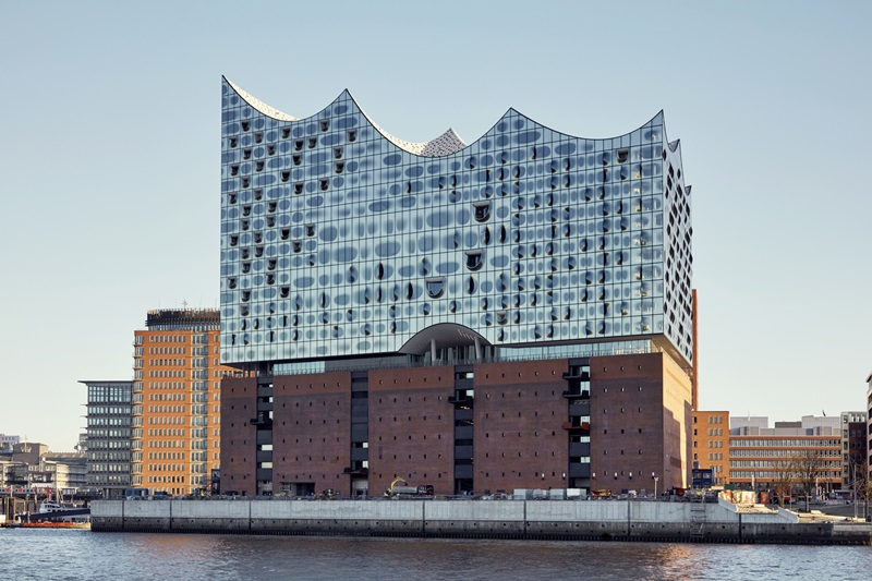 Elbphilharmonie Hamburgo, 2016. Arquitectos Herzog & De Meuron © Fotografía Maxim Schulz.