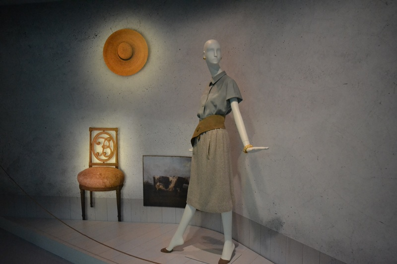 Colección privada Rachel L. Mellon cedida al Museo Balenciaga en Getaria. © Fotografía Sandra Jiménez.